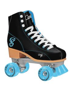 CANDI GRL SABINA Colorful Women's Freestyle Roller Skates - Black/Teal