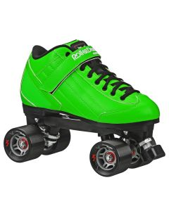 Stomp Factor 5 Quad Roller Skates - Green